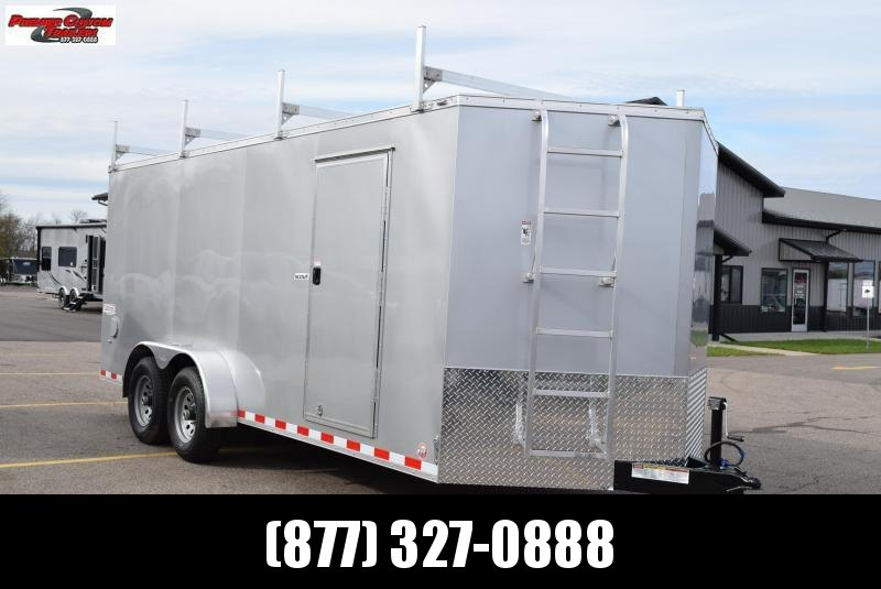 2020 BRAVO 7x18 SCOUT ENCLOSED CONTRACTOR TRAILER