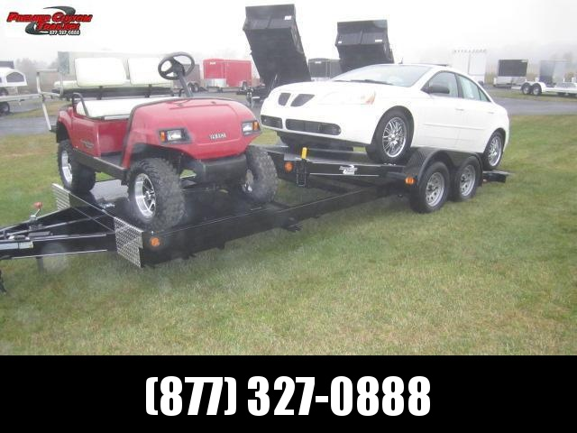 2020 NATION 22' SPLIT DECK TILT BED OPEN CAR HAULER