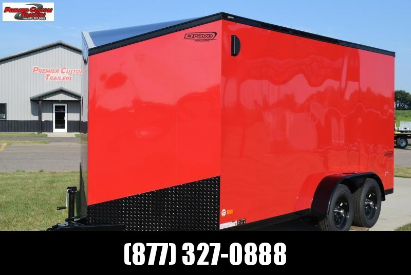 2020 BRAVO 7x14 SCOUT MIDNIGHT EDITION ENCLOSED CARGO TRAILER