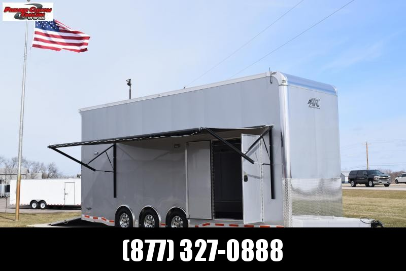 2020 ATC QUEST 26' STACKER ALL ALUMINUM RACE HAULER