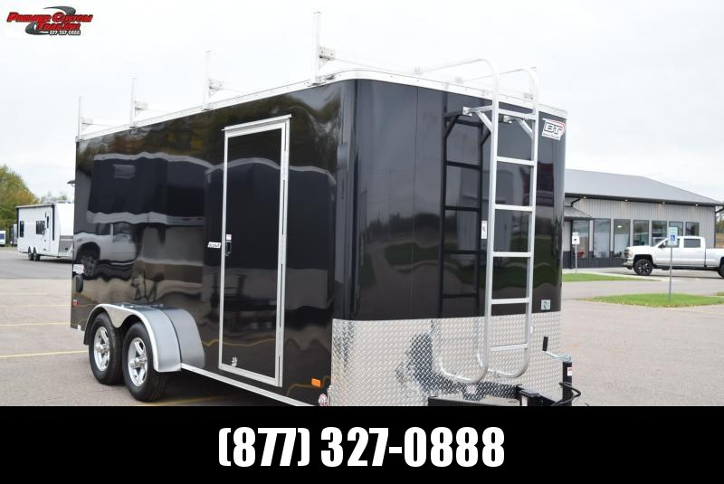 2020 BRAVO 7x16 SCOUT CUSTOM CONTRACTOR TRAILER w/ ELECTRICAL PACKAGE