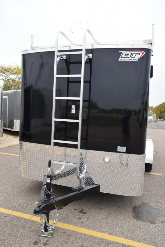 2020 BRAVO 7x16 SCOUT ENCLOSED CONTRACTOR TRAILER w/ ELECTRICAL PACKAGE