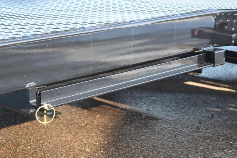 2020 NATION 18' TUBE FRAME OPEN CAR HAULER w/ STEEL DECK