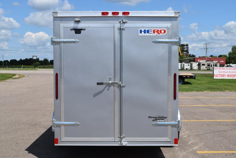 2020 BRAVO HERO 6x12 ENCLOSED CARGO TRAILER