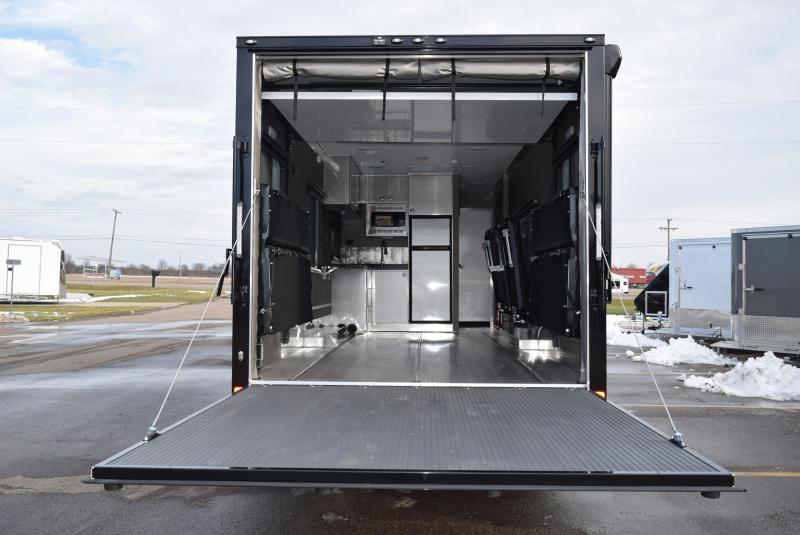 2020 ATC ALL ALUMINUM 8.5x29 TOY HAULER w/ FRONT BEDROOM