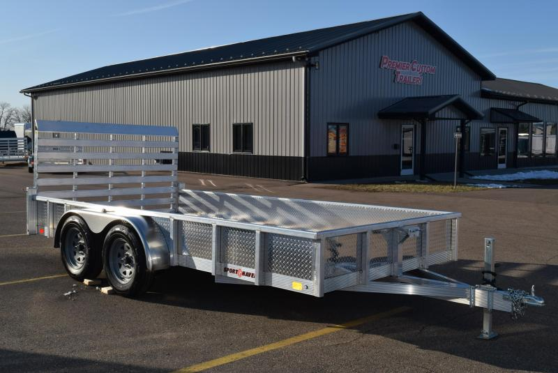2020 SPORT HAVEN 7x14 OPEN UTILITY TRAILER w/ SIDES