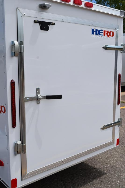 2020 BRAVO HERO 5x8 ENCLOSED CARGO TRAILER