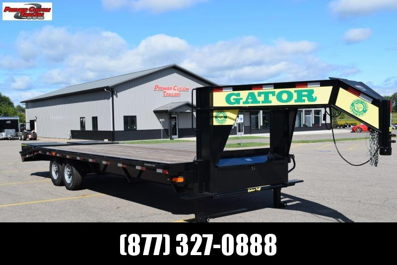 2020 GATORMADE 20'+5' WORKHORSE GOOSENECK HEAVY EQUIPMENT TRAILER