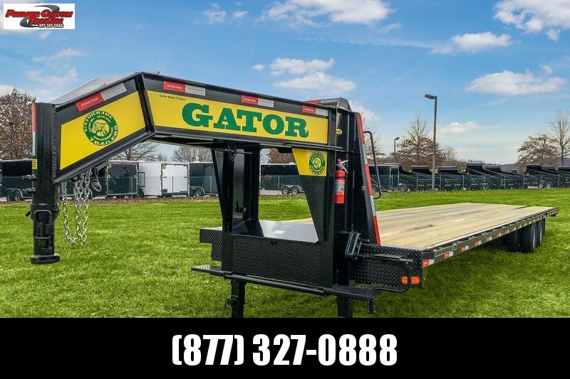 2019 GATORMADE 40FT HOTSHOT 24.9K GOOSENECK EQUIPMENT TRAILER