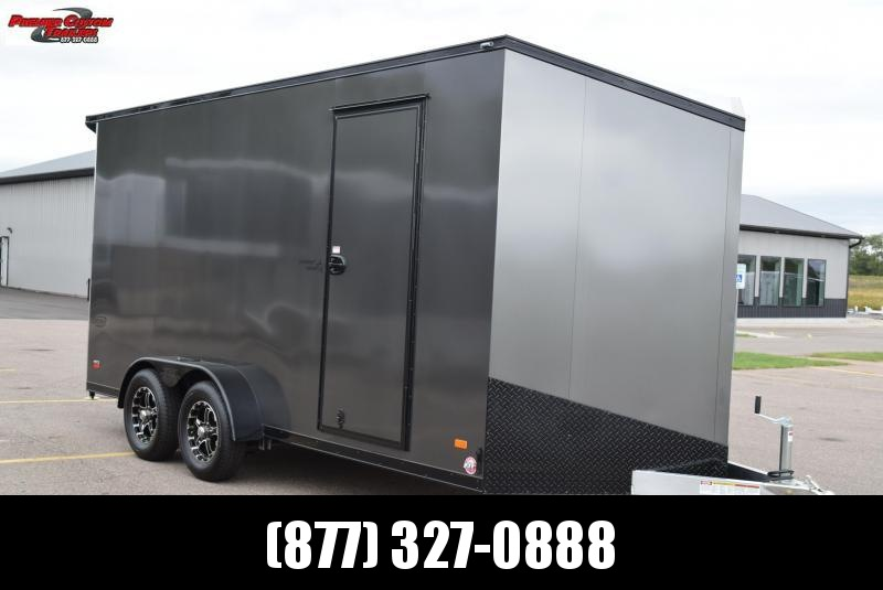 2020 BRAVO 7x16 SILVER STAR ENCLOSED CARGO TRAILER