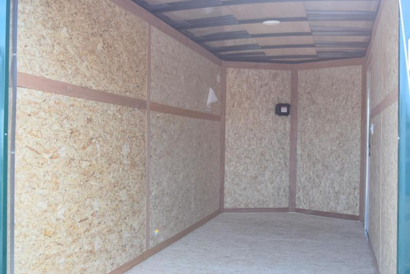2020 BRAVO 6x14 SCOUT ENCLOSED CARGO TRAILER w/ ELECTRIC BRAKES