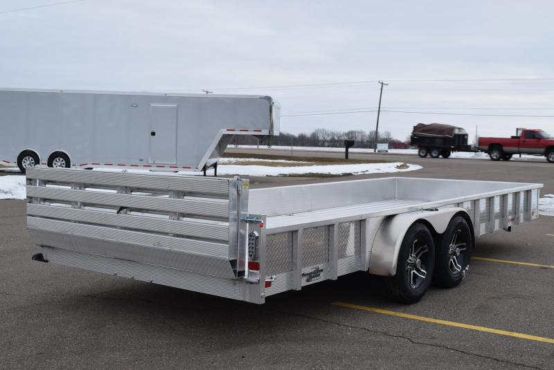 2020 SPORT HAVEN 7x20 DELUXE SERIES OPEN UTILITY TRAILER w/ SIDES