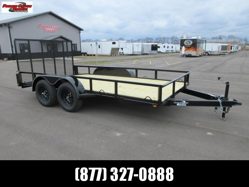 "2019 NATION 82""x14' OPEN LANDSCAPE TRAILER"