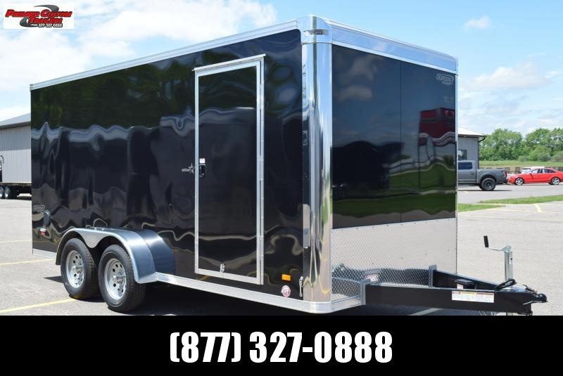 2020 BRAVO 7x16 STAR ENCLOSED CARGO TRAILER