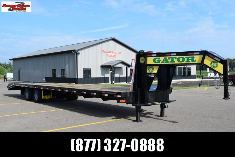 2020 GATORMADE 30+5 TANDEM DUAL ELITE GOOSENECK HEAVY EQUIPMENT TRAILER