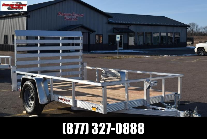 2020 SPORT HAVEN 6x10 OPEN UTILITY TRAILER