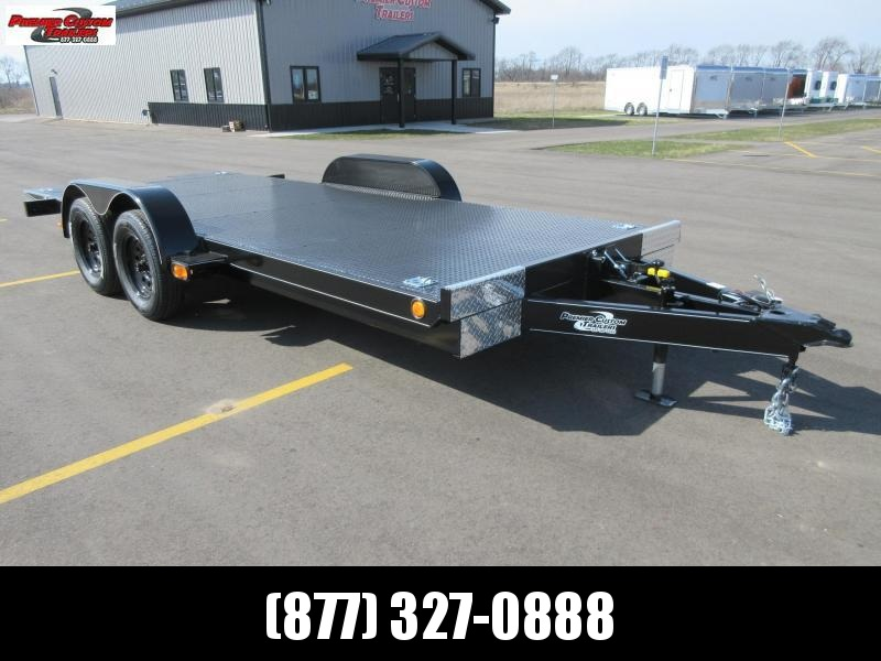 2020 NATION TILT BED OPEN CAR HAULER w/HYDRAULIC DAMPENING