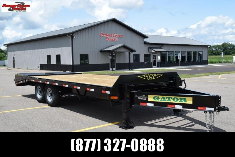 2020 GATORMADE 16'+5' PINTLE 14K EQUIPMENT TRAILER
