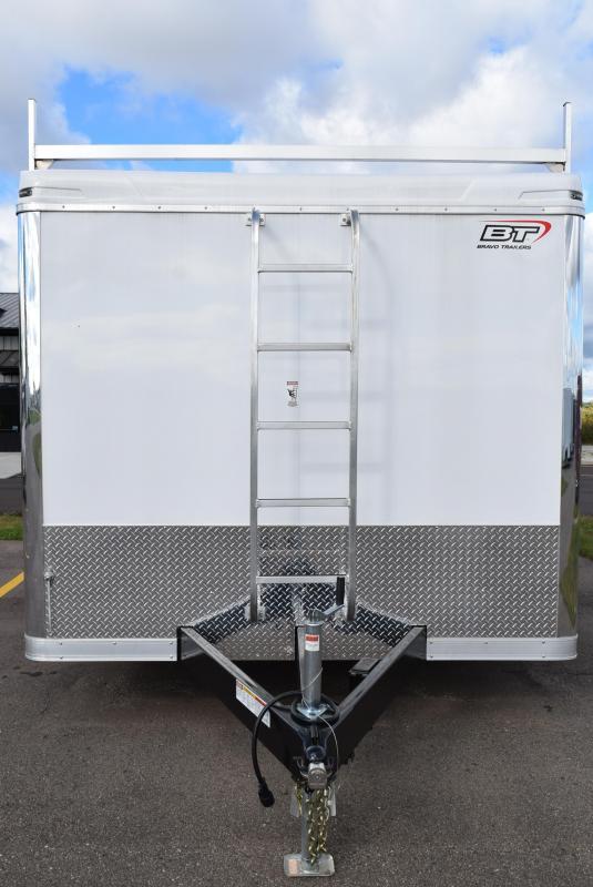 2020 BRAVO 8.5x16 CUSTOM CONTRACTOR TRAILER w/ TOOL CRIB