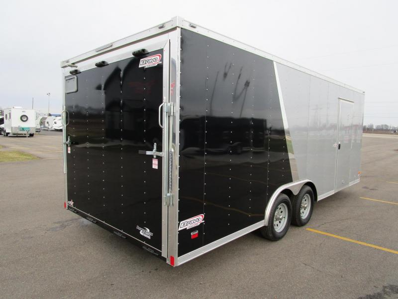 2020 BRAVO 8.5x20 STAR SERIES ENCLOSED CAR HAULER