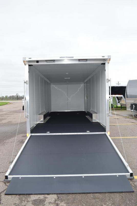 2020 BRAVO SILVER STAR 24' ALUMINUM ENCLOSED CAR HAULER