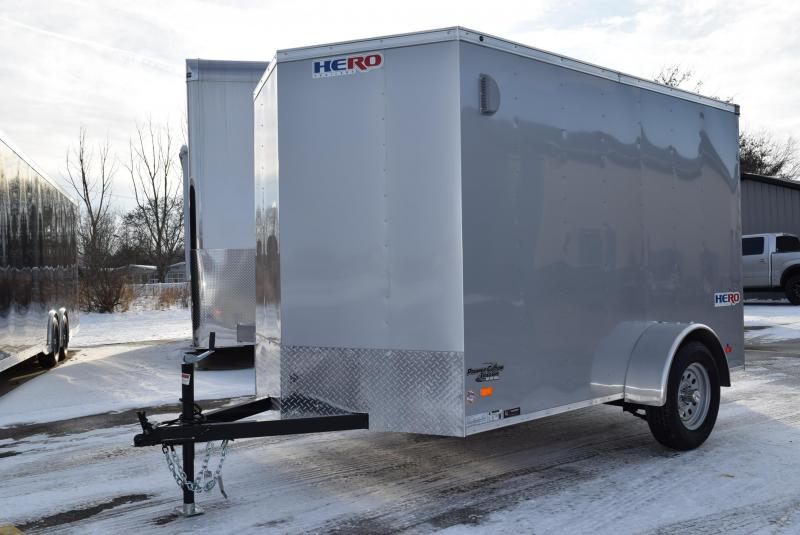 2020 BRAVO HERO 6x10 ENCLOSED CARGO TRAILER