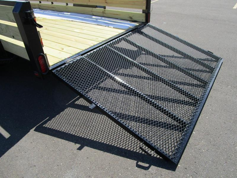 "2020 NATION 6'4""x12' OPEN UTILITY TRAILER"