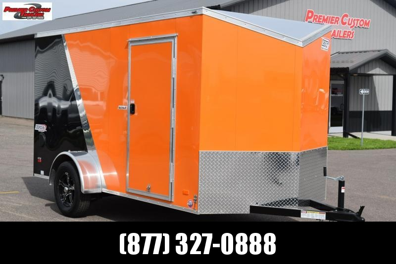 2020 BRAVO 6x12 SCOUT ENCLOSED MOTORCYCLE TRAILER