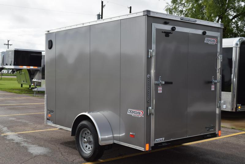 2020 BRAVO 6x10 SCOUT ENCLOSED CARGO TRAILER