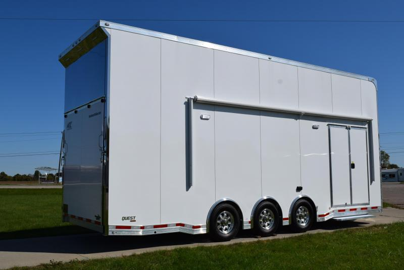 2020 ATC 26' QUEST ST305 STACKER ALL ALUMINUM RACE HAULER