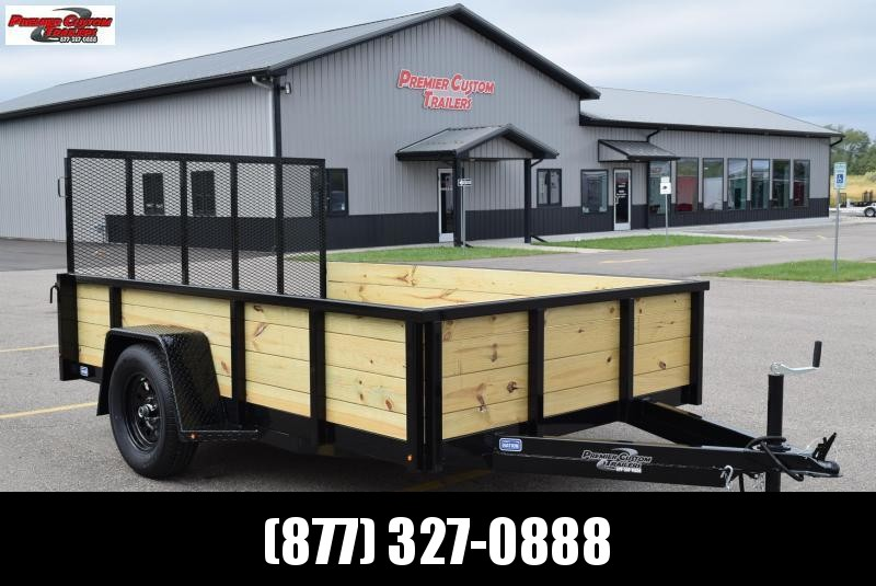 "2020 NATION 6'4""x10' OPEN UTILITY TRAILER"