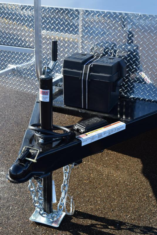 2020 BRAVO SCOUT 7x16 CUSTOM CONTRACTOR TRAILER w/LADDER RACKS