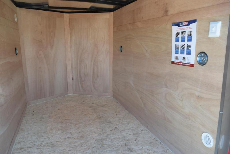 2020 BRAVO HERO 5x8 ENCLOSED CARGO TRAILER
