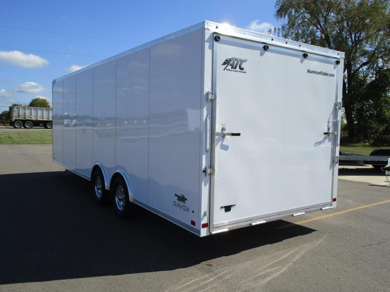 2020 ATC ALL ALUMINUM 8.5x24 RAVEN CAR HAULER