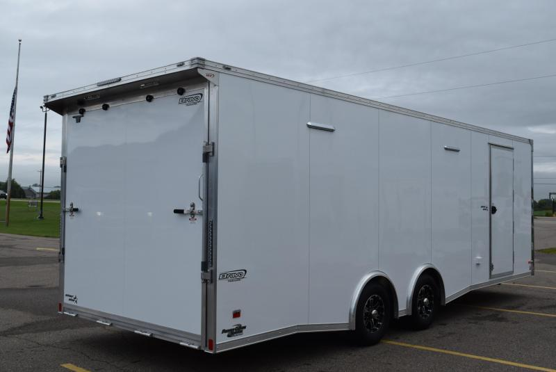 2020 BRAVO SILVER STAR 24' ALUMINUM ENCLOSED RACE HAULER