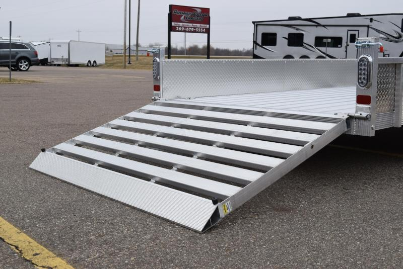 2020 SPORT HAVEN 6x12 DELUXE SERIES UTILITY TRAILER