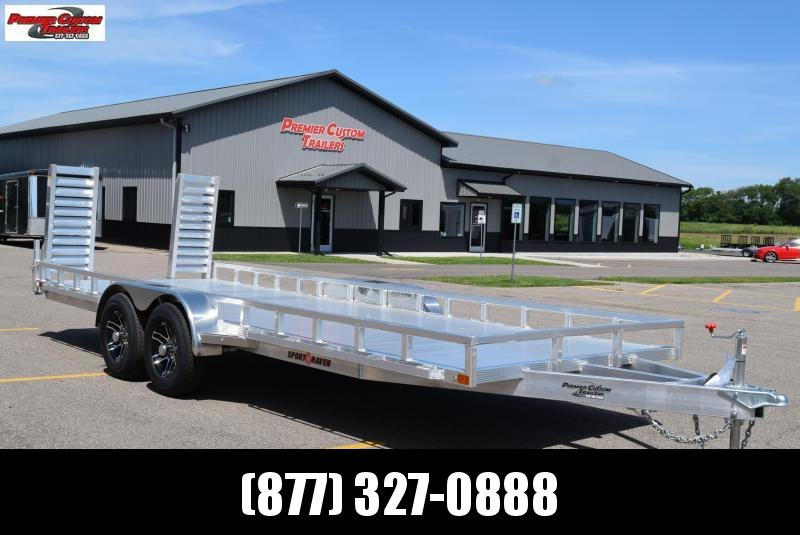 2020 SPORT HAVEN 7x20 HEAVY DUTY UTILITY TRAILER