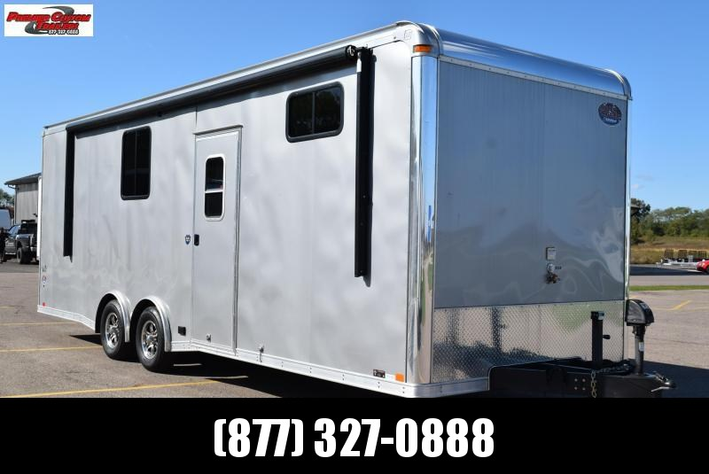 USED 2015 UNITED 26' SUPER HAULER TOY HAULER