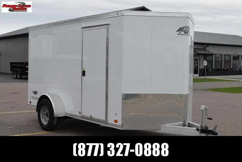 2019 ATC ALL ALUMINUM 6x12 CARGO TRAILER