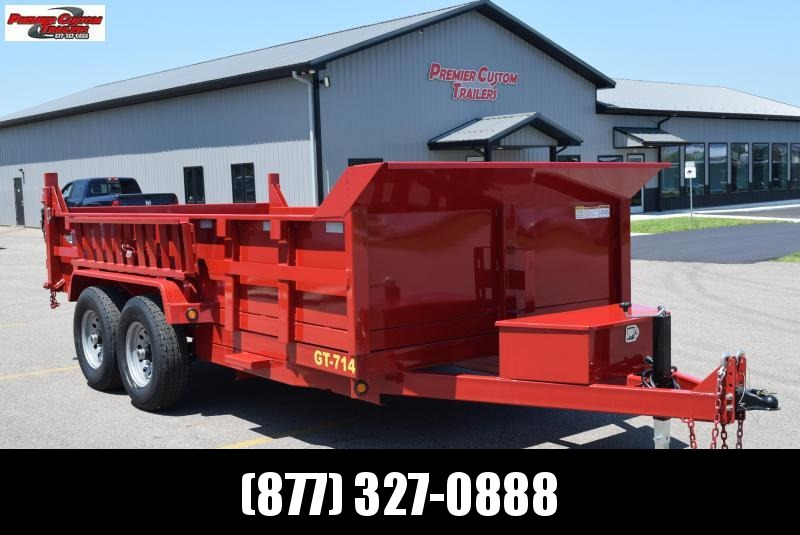 2019 GRIFFIN 83 x 14 14K Low Pro Dump Trailer