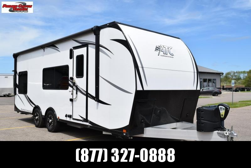 USED 2019 ATC 8.5x24 ALL ALUMINUM TOY HAULER