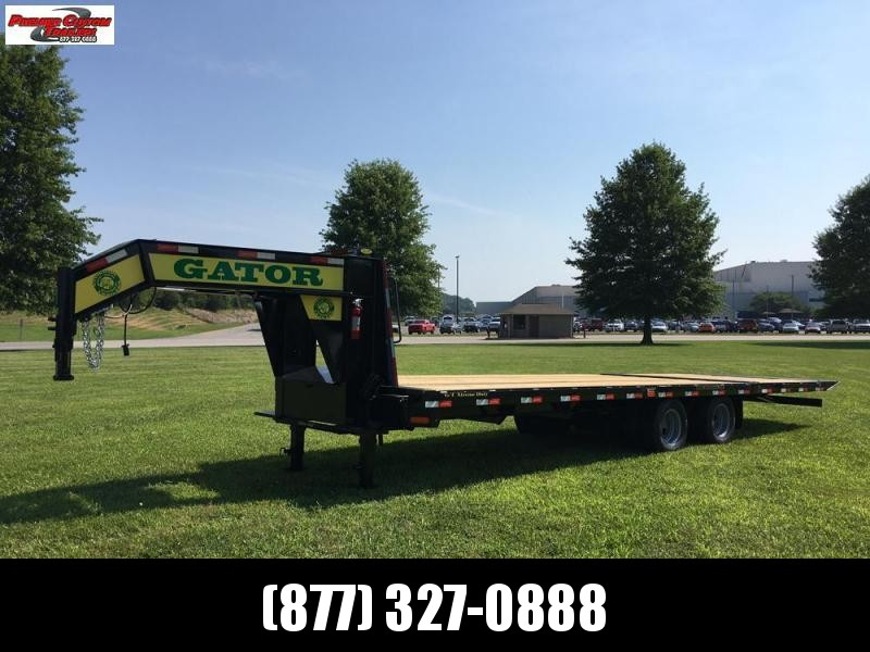 2020 GATORMADE 20'+10' HYDRA-TAIL ELITE GOOSENECK HEAVY EQUIPMENT TRAILER