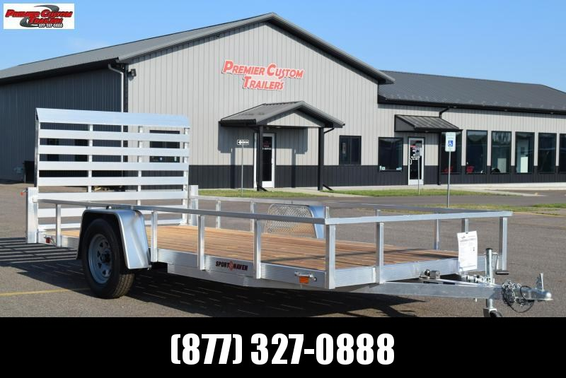 2020 SPORT HAVEN 6x14 OPEN UTILITY TRAILER