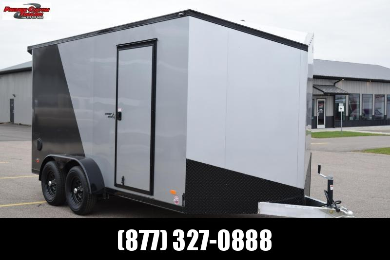 2020 BRAVO 7x14 SILVER STAR *MIDNIGHT EDITION* CARGO TRAILER