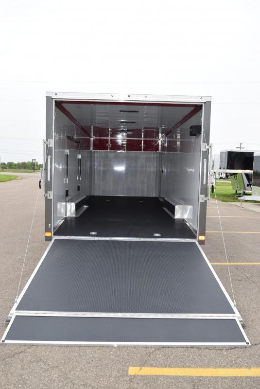 2020 ATC ALL ALUMINUM 8.5x24 RAVEN CAR HAULER w/ PREMIUM ESCAPE DOOR