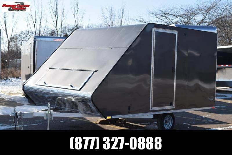 2020 SPORT HAVEN 13' HYBRID ENCLOSED SNOWMOBILE TRAILER