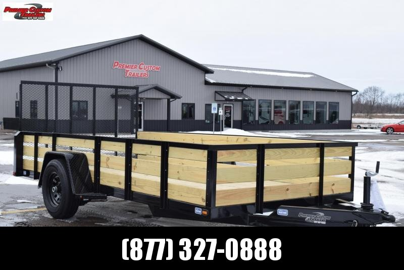 "2019 NATION 6'4""x14' OPEN UTILITY TRAILER w/ 5200LB AXLE"