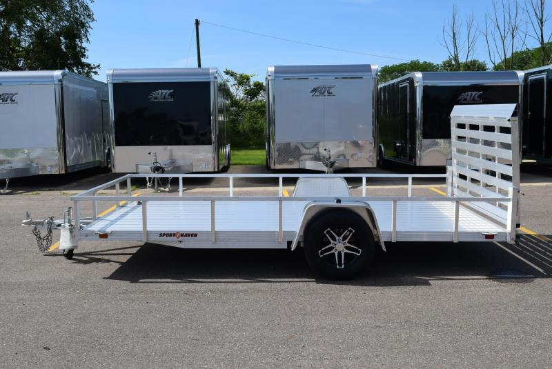 2019 SPORT HAVEN 7x14 DELUXE SERIES UTILITY TRAILER