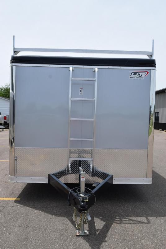 2020 BRAVO 8.5x16 CUSTOM CONTRACTOR TRAILER w/ TOOL CRIB
