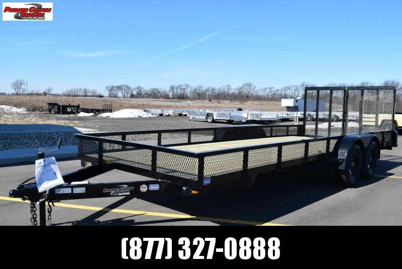 "2020 NATION 82""x20' OPEN LANDSCAPE TRAILER"